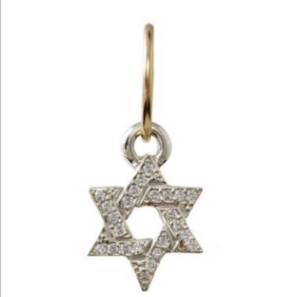 dadbf8587 Lee Brevard Jewelry | Pave Star Of David Earring | Poshmark